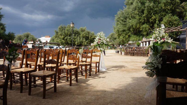 Ceremonia boda civil en el Rocio, Huelva, blessing ceremony, wedding minister English Spanish French German Swedish celebrant ceremonies civiles symbolique en français espagnol anglais F08