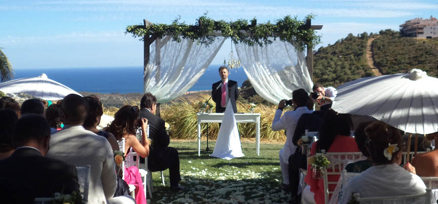 Zivile Hochzeitsoffiziere Malaga
