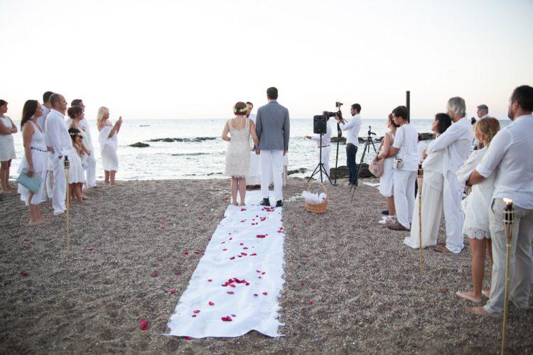 Maestro Ceremonia civil Marbella al amanecer, wedding minister Spanish English Marbella, Celebrant anglais, français, espagnol, allemand F09