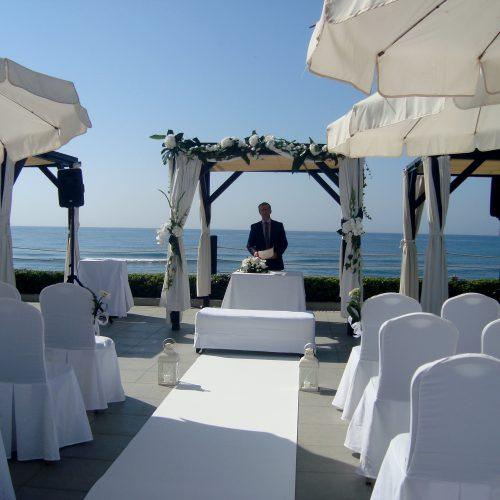 Officiant de cérémonie en fran'ais' Marbella