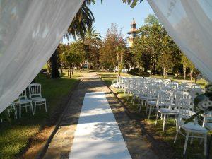 Ceremonia boda civil La Almoraima, Cádiz
