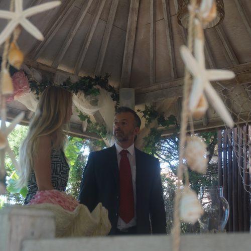 Standesamtliche Trauung auf Spanisch und Deutsch in Zahara de los Atunes, Tarifa, Cadiz