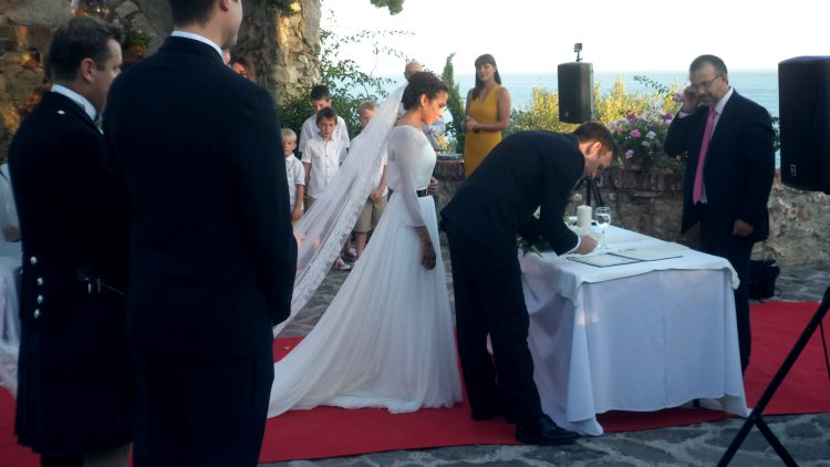 Свадебный министр Марбелья Коремони цивилю Мариаж Марбелья Малага Нерха