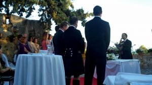 Wedding minister Marbella
