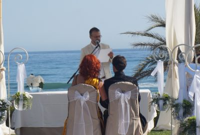 Cérémonie civile mariage Marbella Malaga Nerja