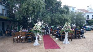Ceremonia civil boda en El Rocío, Huelva