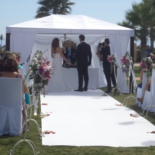 Assembly and decoration of Civil Wedding Altars F0