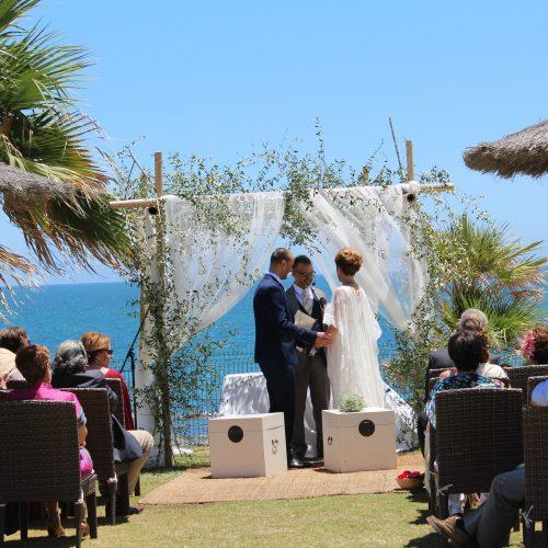Hochzeiten am Strand Mijas Costa Hochzeiten am Strand Mijas Marbella Zeremonien Mariages sur la plage Marbella Mijas05