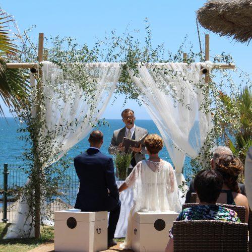 Bodas en la playa Mijas Costa Weddings at the beach Mijas Marbella Ceremonies Mariages sur la plage Marbella Mijas 02