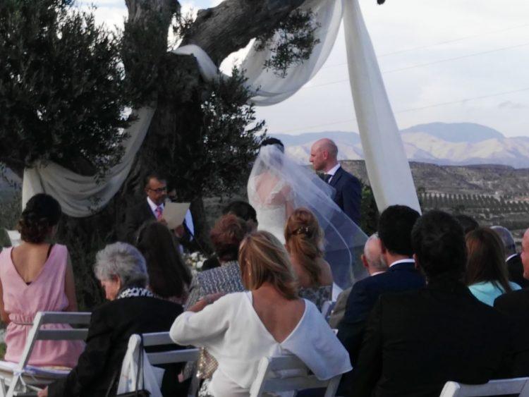 Maestro de ceremonias y bodas civiles en Real Agua Amarga Nijar Cabo de Gata Almeria