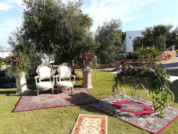 Maestros de ceremonias en Villa Maltes en Cabo de Gata Almeria Oficiantes de bodas civiles