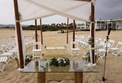 Master of ceremony and officiant of the Civil Wedding Melia Atlanterra Barbate Cadiz 11
