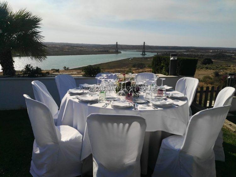 Borgerlig bröllop i Paradores de Ayamonte Huelva