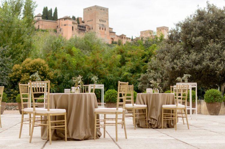 Palacio de los Cordova, Maîtres de cérémonie et arbitres de mariage à La Alhambra